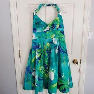 Betsy & Adam Vintage Hauter Dress